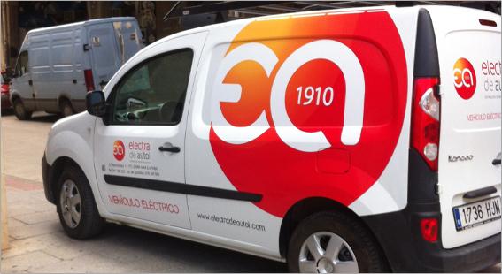 Primera furgoneta eléctrica de La Rioja