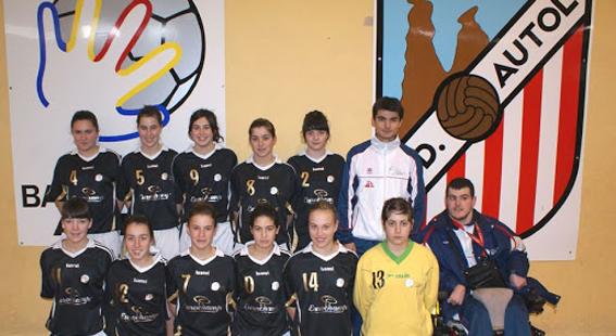 Club Balonmano Autol y Club Deportivo Autol